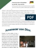 II Aniversario Misionero en Mozambique.junio2010