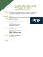 Erick Ricardo Lourenço de Oliveira Neves Da Silva