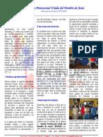Informe Misionero Chile Mayo 2010