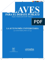 Autonomia Universitaria Claves