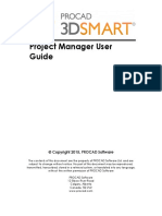 Project Manager User Guide