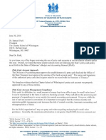 Charter School of Wilmington Inspection Letter