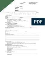 Formulir Pelaporan Ktd,Kpc,Knc