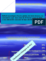 ECV Aterotrombótica, Embólica y Lacunar.