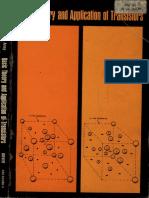 Us Army Basic Theory Applications Of Transistors