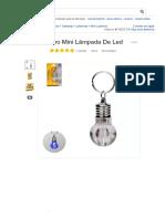 Chaveiro Mini Lâmpada De Led - R$ 2,99 em Mercado Livre