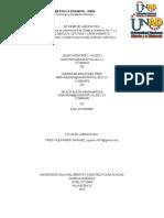 Informe Practica 3 y 4 Quimica Organica