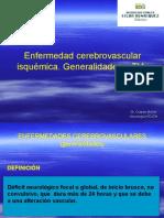 Enfermedad Cerebrovascular Isquémica. Generalidades y TIA