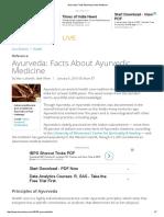 Ayurveda_ Facts About Ayurvedic Medicine