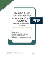 MANUAL DE SISTEMA DE ILUMINACION Y AUDITIVO.doc