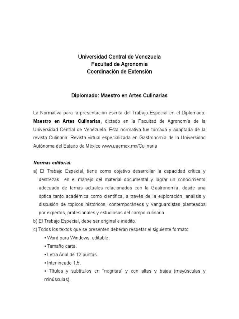 Excepcional Reanudar Plantillas Artes Culinarias Bandera - Ejemplo ...