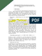 Cinética de La Degradación Térmica de Antocianinas Acuosas y Color Visual de La Coronta de Maíz Morado