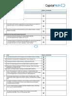 2016-06-02 CapitalPitch Due Diligence Checklist