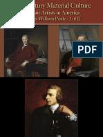 Portrait Artists - Peale, C.W, 1 of 2