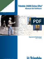 3600 Zeiss Elta Manual Del Software E&P 571703026 Ver0200 SPA