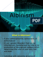 Albinism Pres