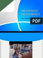 Anestesia Endovenosa