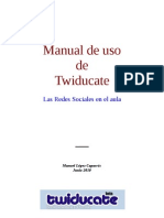 Manual de Twiducate