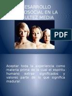 Desarrollo Psicosial en La Adultez Media-psicologia Del Desarrollo II