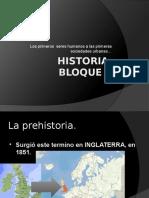Historia Bloque 1sexto prehistoria