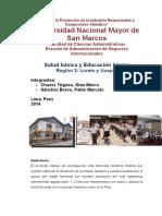 Salud y Educación Básica - Región 3