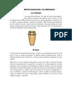 Instrumentos Musicales y Su Definicion