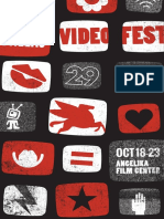 Dallas VideoFest 29 Program