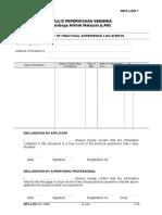 Log Book(1) Forms