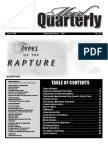 2Q-2008 Types of the Rapture