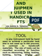 presentation in Handicrafts