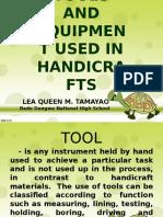 sim in handicrafts.ppt