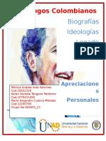 Revista Sociologos Colombianos Lista 10