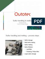 COBRAS 2015 Outotec SulfurHandling