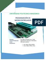 Programacion de Microcontrolador