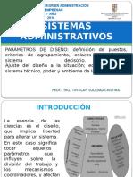 Parámetros de Diseño