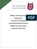 Investigacion de Nano Chalecos