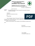 Surat Permohonan Menyurat Ke Dinas Pendirian Puskesmas