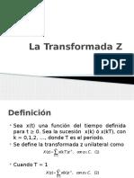 La Transformada Z