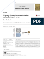 Hydrogel Preparation, Characterization,