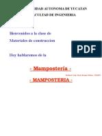 mamposteria