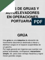 Tipos de Gruas y Autoelevadores en Operaciones Portuarias