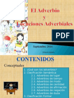 Adverbio y Locuciones
