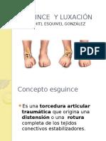 ESGUINCE  Y LUXACIÓN.pptx