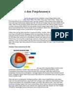 Ref 1 Struktur Bumi Dan Penjelasannya