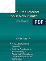 I Found Free Internet Tools! Now What AETC 2010