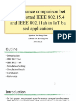 20160121_PHC_Performance Comparison Between Slotted IEEE 802.15.4 and IEEE 802.1 Lah in IoT Based Applications