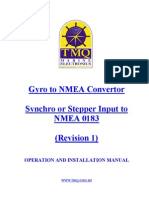 Gyro to NMEA Convertor Manual