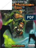 Genius Guide to Variant Multiclassing Rules (PFRPG)