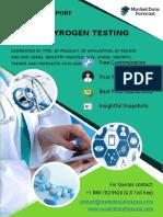 Pyrogen Testing Market at MarketDataForecast