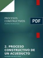 Proceso Constructivo de Un Acueducto